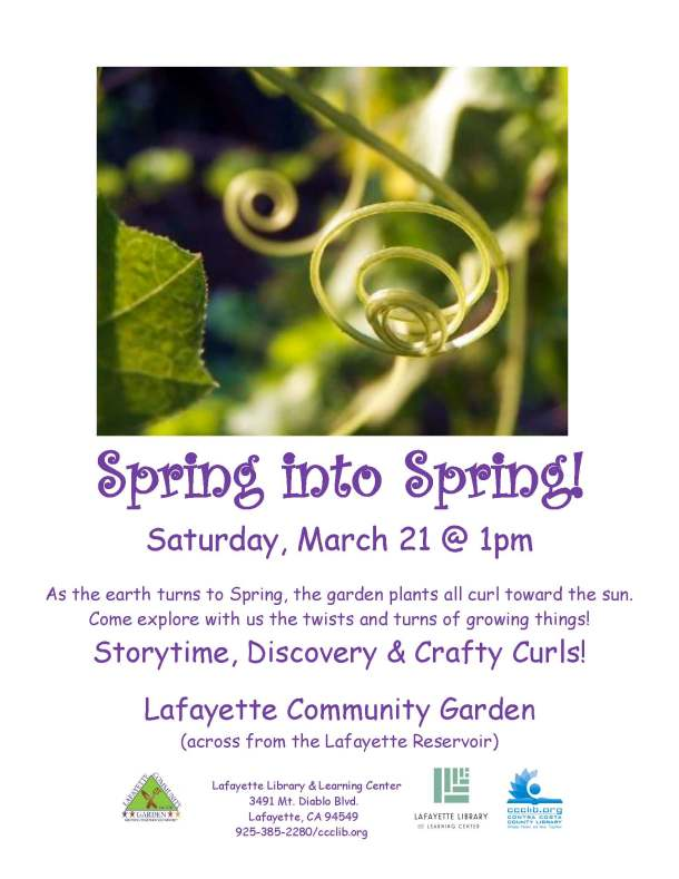 Spring into Spring March 2015