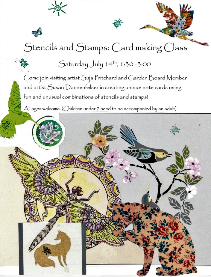 stencil and stamps flyer23